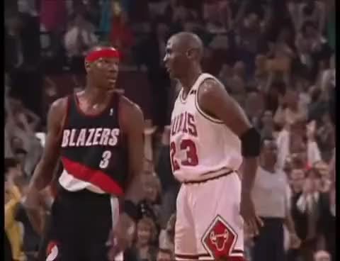 Watch and share Michael Jordan GIFs and Chicago Bulls GIFs on Gfycat