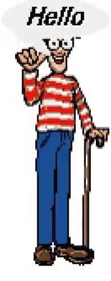 Watch and share Waldo Wheres Waldo GIFs on Gfycat
