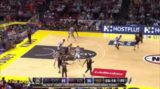 Watch and share Adelaide 36ers GIFs and Sydney Kings GIFs by joshuabarrett on Gfycat