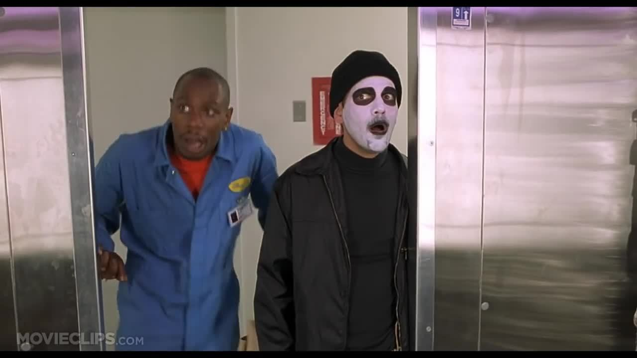 Dave Chappelle, half baked, half baked clip, popheads, Half Baked (9/10) Movie CLIP - Robbing the Weed Lab (1998) HD GIFs