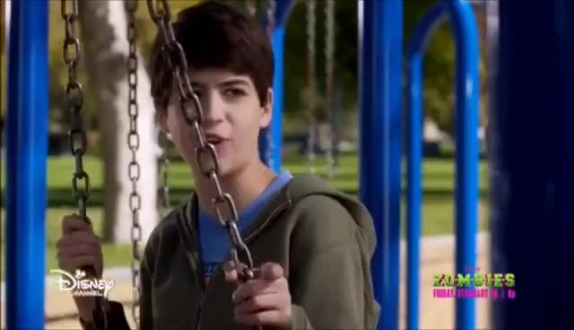 Watch Andi Mack 2x11 Cyrus and TJ swing GIF on Gfycat. Discover more related GIFs on Gfycat