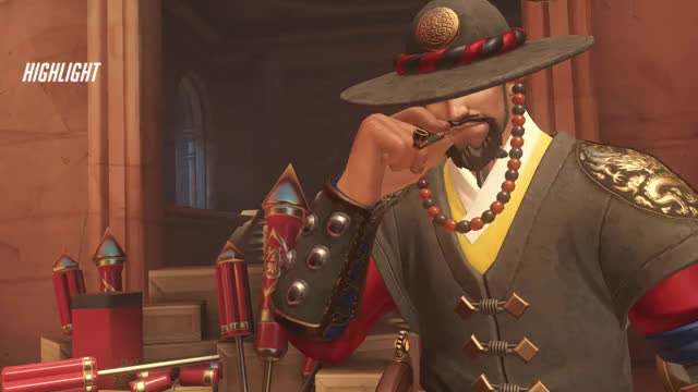 Watch mccree GIF by lumbo (@lumbology) on Gfycat. Discover more highlight, mccree, overwatch GIFs on Gfycat