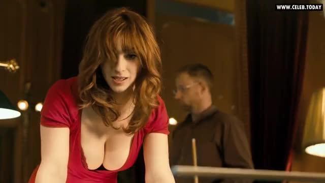 Busty anya red bra