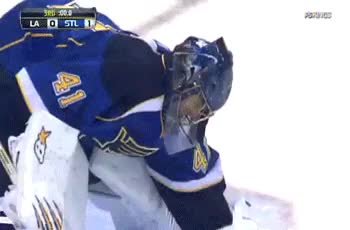 Watch Halak struggling to pick up the puck after his shutout GIF on Gfycat. Discover more I JUST THOUGHT THIS WAS FUNNY, gif, jaroslav halak, st. louis blues GIFs on Gfycat