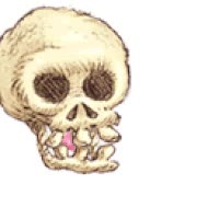 Watch and share Skull Blowing Bubble Gum Blows Skeleton Funny LOL Happy Halloween White Large Icon Icons Emoticon Emoticons Animated Animation Animations Gi GIFs on Gfycat