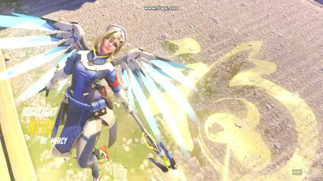 Watch Mercy 3man ress hanamura GIF on Gfycat. Discover more related GIFs on Gfycat