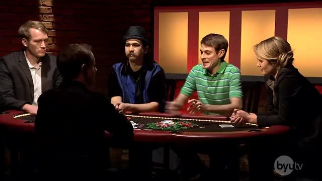 Watch Poker Face GIF on Gfycat. Discover more BYUtv, Humor, Yahtzee, college, funny, gamble, gambling, poker GIFs on Gfycat