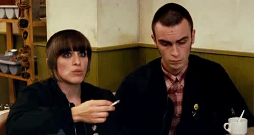 Watch and share Gif LOL Smoke This Is England Cigarette Skinhead GIFs on Gfycat