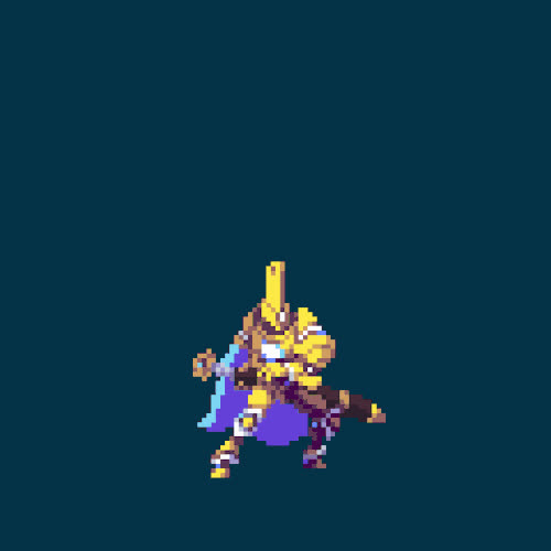 Duelyst minion preview: Sol Pontiff by glauberkotaki | Tumblr GIFs