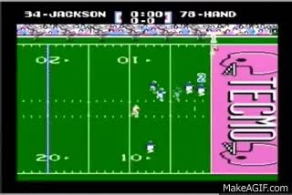 Watch and share Tecmo Super Bowl (Bo Jackson Challenge) GIFs on Gfycat