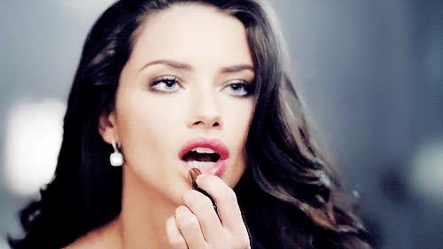 adriana lima, makeup, makeup bag GIFs