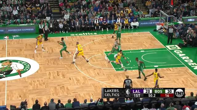 Watch and share Los Angeles Lakers GIFs and Boston Celtics GIFs by prejuce on Gfycat