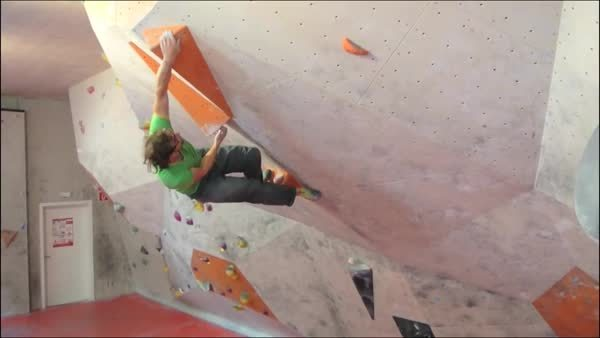 bouldering, Caution:Holds may spin GIFs
