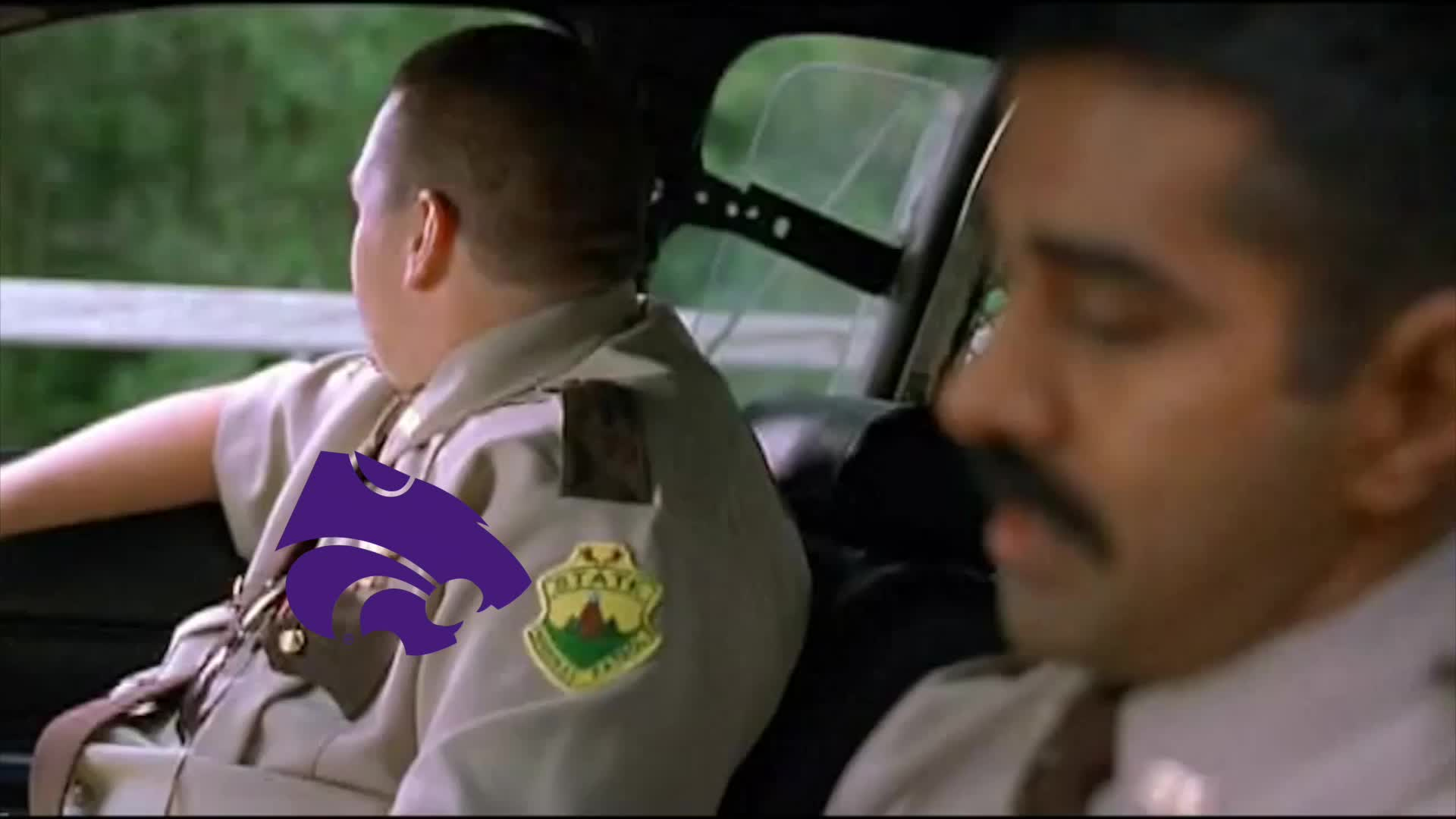 K-State, Kansas State, Super Troopers, collegebasketball, Play Sandstorm GIFs