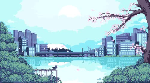 Watch and share Japanese Pixel Art GIFs and Cherry Blossom GIFs on Gfycat