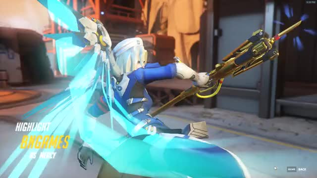 Watch Mercy Giveth, Mercy Taketh Away GIF by BN-Games.com (@bngamesreviews) on Gfycat. Discover more Mercy, gaming, overwatch GIFs on Gfycat