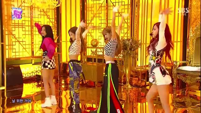 Watch BLACKPINK - '뚜두뚜두 (DDU-DU DDU-DU)' 0617 SBS Inkigayo GIF on Gfycat. Discover more BLACKPINK, 블랙핑크 GIFs on Gfycat