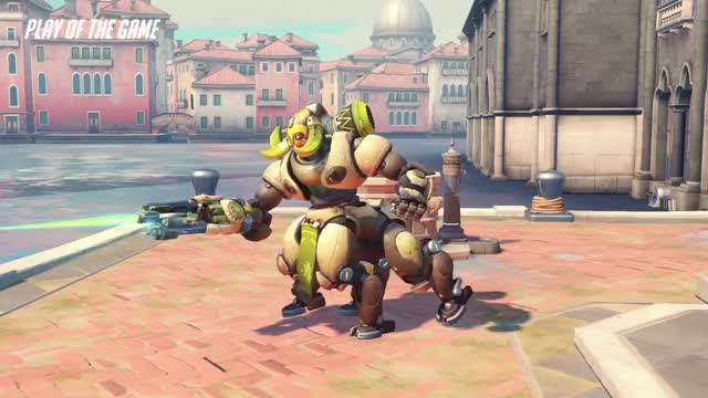 Watch and share Overwatch GIFs and Orisa GIFs by paroikos on Gfycat