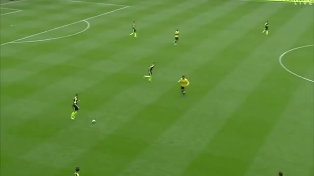 Watch and share Xhaka & Holding - Passes Of The Match GIFs on Gfycat