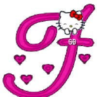 Watch Hello Kitty alphabet animated gif GIF on Gfycat. Discover more related GIFs on Gfycat