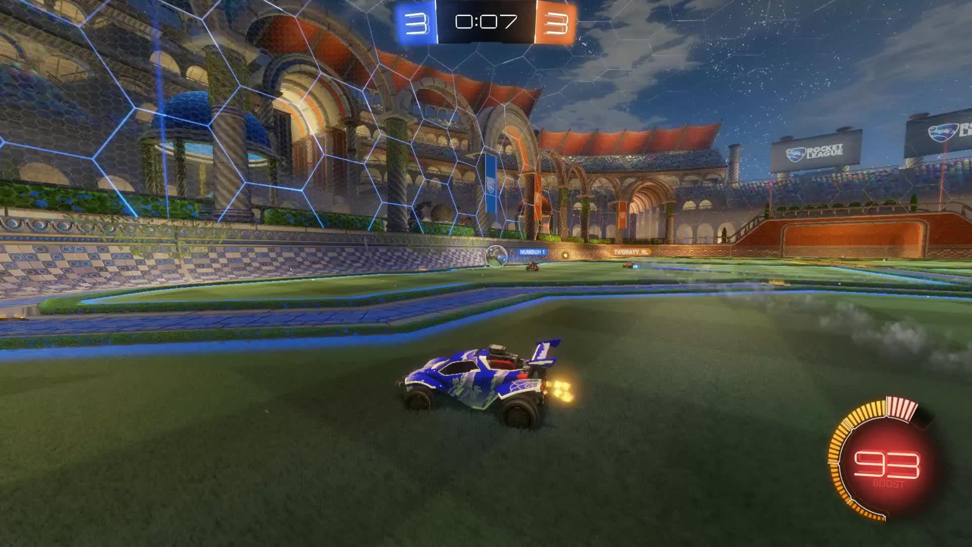 Gif Your Game, GifYourGame, Goal, Rocket League, RocketLeague, chewy, Goal 7: tv/grayy_rl GIFs