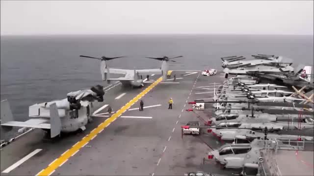 Watch and share Ospreys On The USS Iwo Jima. (reddit) GIFs by forte3 on Gfycat
