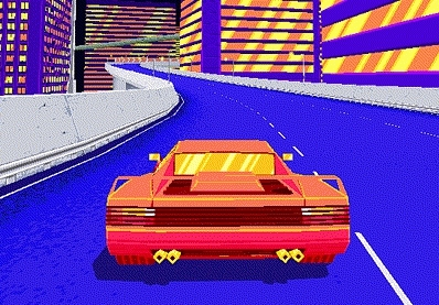 80s, 90s, animated, arcade, cars, drift stage, gif, linux, mac, pc, playstation, racing, Don't scratch it.  GIFs