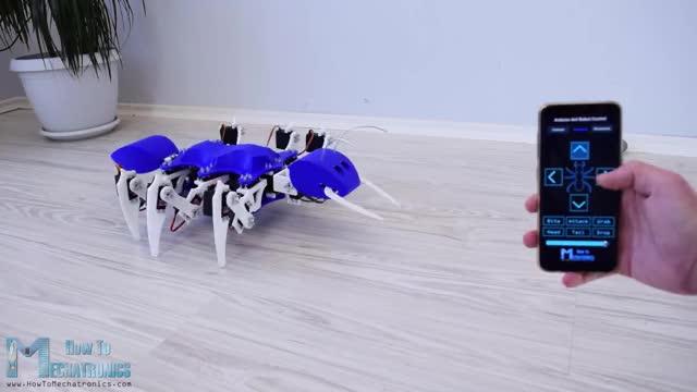 Watch Arduino Ant Hexapod Robot GIF on Gfycat. Discover more Ant, Arduino, Arduino Hexapod, Arduino Projects, Code, Hexapod, PCB, Robot, Servo, Ultrasonic Sensor GIFs on Gfycat