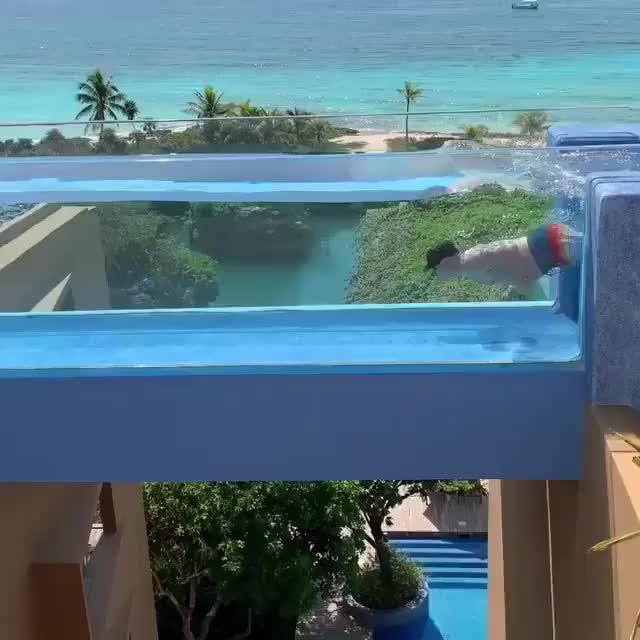 A Rooftop Pool In Mexico GIFs