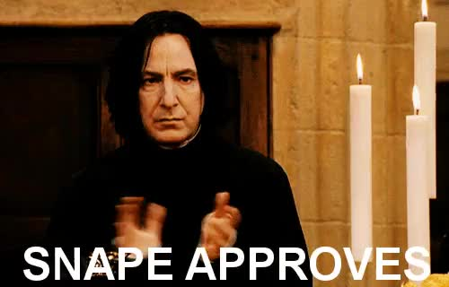 Watch Ten points to Gryffindor! GIF on Gfycat. Discover more alan rickman GIFs on Gfycat