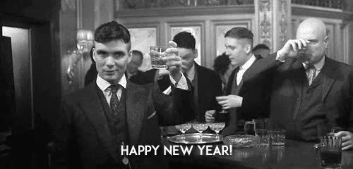Watch and share Happy New Year GIFs and Peaky Blinders GIFs on Gfycat