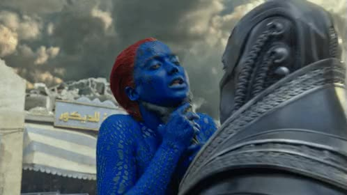 Watch and share Oscar Isaac GIFs and Mystique GIFs on Gfycat