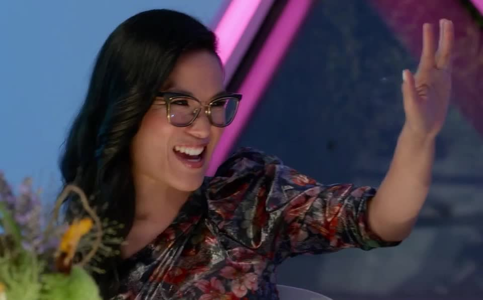 ali, always, blow, bye, cu, goodbye, hello, hey, hi, kiss, kisses, later, love, maybe, my, see, send, smooch, wong, you, Ali Wong - Bye GIFs