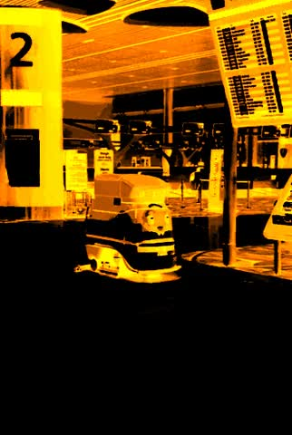 Watch and share Yet Another Cleaning Robot Wandering This Automated Terminal GIFs on Gfycat