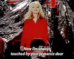 Watch dreaming GIF on Gfycat. Discover more **, Blondie, Debbie Harry, Deborah Harry, GROSS GROSS GROSS, live, shit.gif GIFs on Gfycat