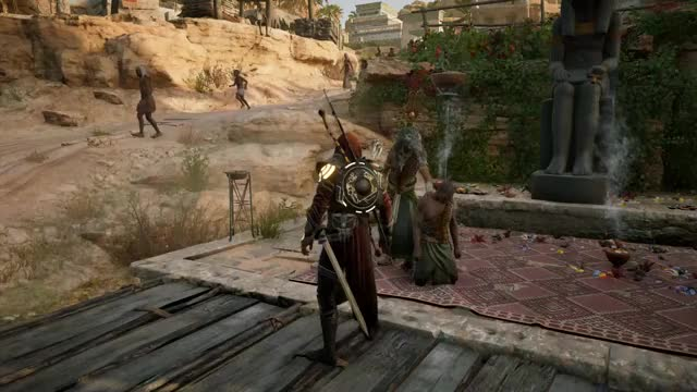 Watch and share Isu Armor GIFs and Bayek GIFs by Badger on Gfycat