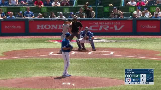 Watch and share Toronto Blue Jays GIFs and Baseball GIFs by Michael Ajeto on Gfycat