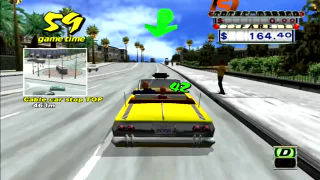 Watch and share Crazy Taxi 2 GIFs and Sega GIFs by Fedor Sivov on Gfycat