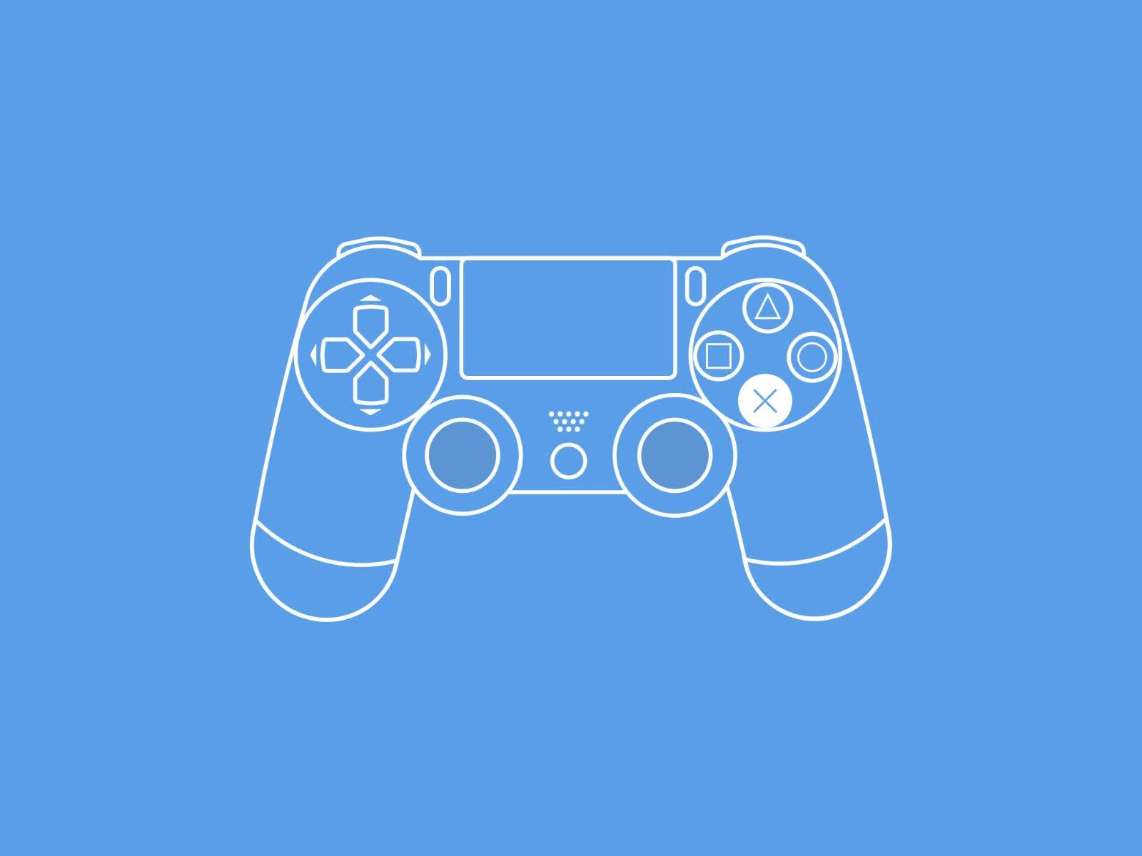 ps4, PS4 Controller GIFs