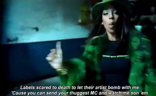 Watch Rah Digga - Imperial  GIF on Gfycat. Discover more busta rhymes, female rap, female rapper, hip hop, hiphop, imperial, rah digga, rap, rapper GIFs on Gfycat