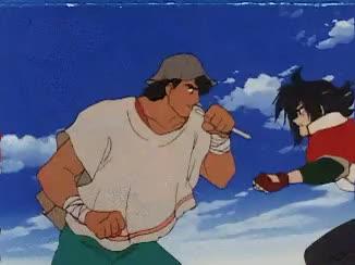 Anime domon kasshu g gundam gundam mobile fighter g for Domon in gundam build fighters