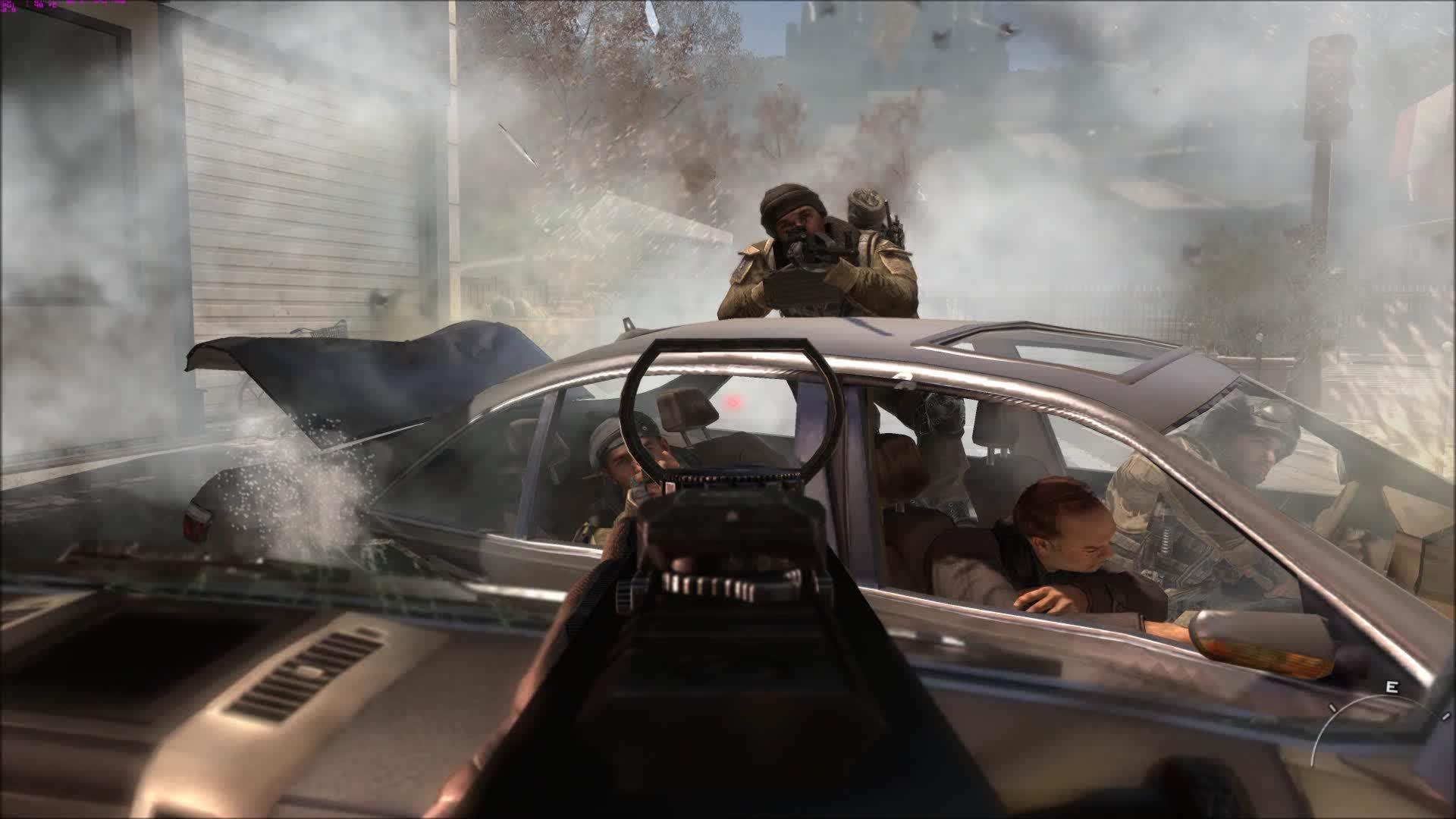 60fpsGamingGifs, 60fpsgaminggifs, [MW3] Car Crash GIFs