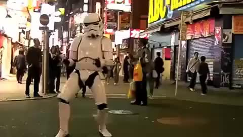 Watch and share Dancing GIFs and Trooper GIFs on Gfycat