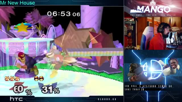 When Mang0 turns one stream into a combo video