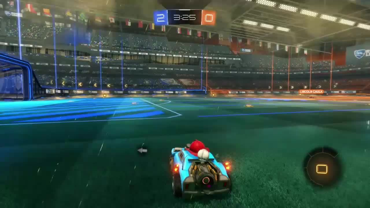 rocket league, rocketleague, I know the car's pointy, but I didn't realise it was THIS pointy. GIFs