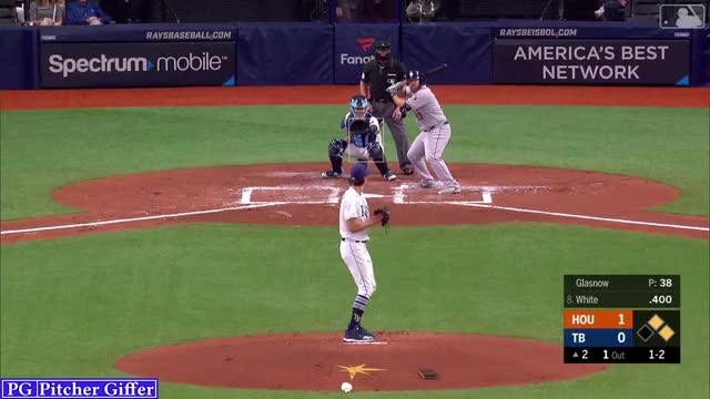 Watch and share Houston Astros GIFs and Tyler Glasnow GIFs by Pitcher Giffer on Gfycat