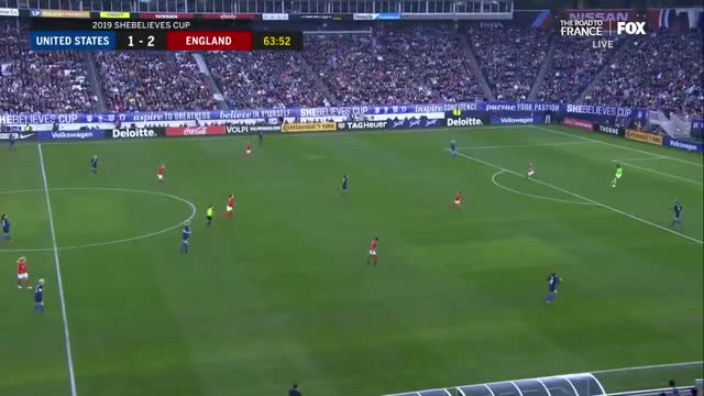 Watch and share (2) USWNT Vs England 3.2.2019 / SheBelievesCup 2019 GIFs on Gfycat