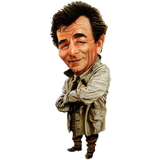 Watch and share Gangsta Columbo animated stickers on Gfycat