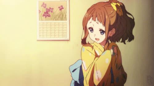 ai, anime, beyond the boundary, kimono, kyoukai no kanata, Kimono Ai GIF GIFs