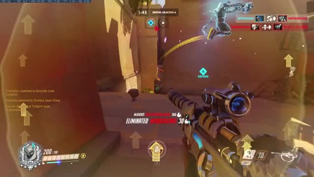 Watch nonononoyes GIF by jeff_lkk on Gfycat. Discover more Overwatch, highlight GIFs on Gfycat